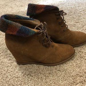 Johnston & Murphy Brynn Chukka - Women's Boots 8.5